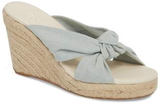 Soludos Knotted Espadrille Wedge Sandal