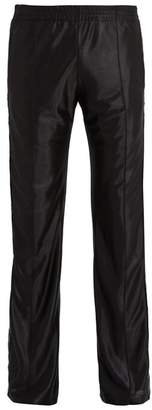 Faith Connexion - X Kappa Satin Jersey Track Pants - Mens - Black