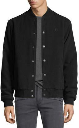 Hudson Men's Casual Varsity Jacket