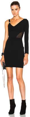 Versus One Sleeve Mini Dress