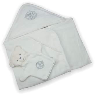 Kaloo Bath Towel & Bear Puppet Wash Mitt
