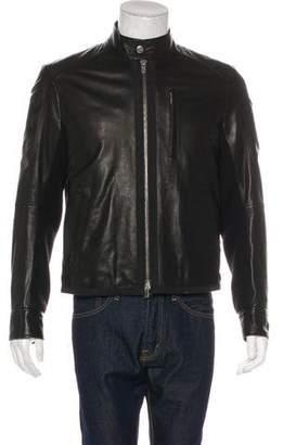 Theory Roddick Leather Jacket