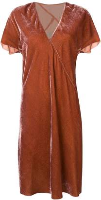 Rick Owens draped tunic dress