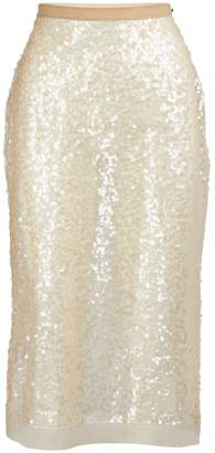 Miu Miu Sequined midi skirt