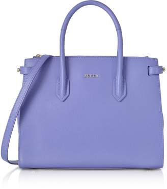 Furla Pin Leather Small Tote Bag