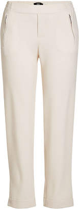 Steffen Schraut Crepe Cropped Pants