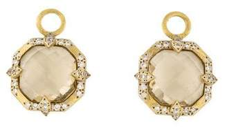 Jude Frances 18K Diamond-Accented Quartz Moroccan Marrakesh Earring Enhancers