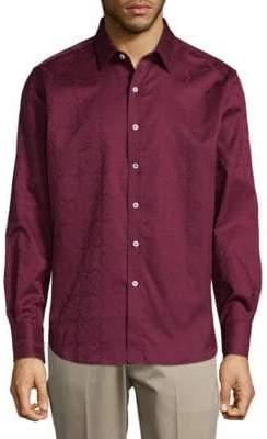 Robert Graham Cotton Pattern Button-Down Shirt