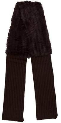La Fiorentina Knit Fur Stole