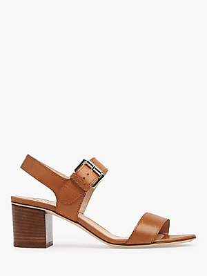 22738c582830 at John Lewis and Partners · LK Bennett L.K.Bennett Pelham Stacked Heel  Sandals