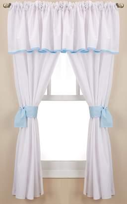 Babydoll Baby Doll Forever Mine Junior 5 Piece Window Valance Curtain Set