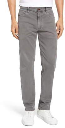 Faherty Comfort Twill Straight Leg 5-Pocket Pants
