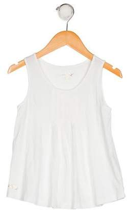 Lilly Pulitzer Girls' Pleated Sleeveless Top
