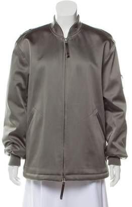 Alexander Wang Zip-Up Bomber Jacket