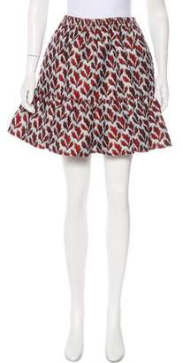 Philosophy di Lorenzo Serafini Patterned Mini Skirt