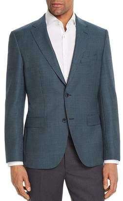 BOSS Jester Regular Fit Elbow Patch Check Sport Coat