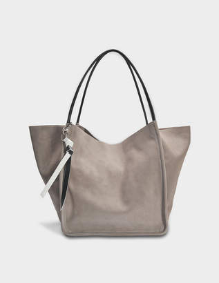 Proenza Schouler Extra Large Tote in Dark Taupe Light Suede