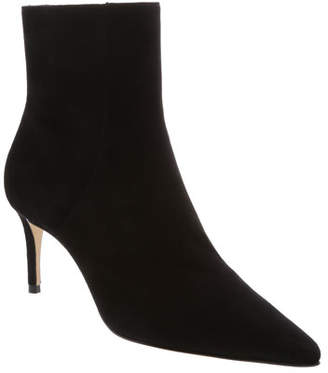 44ab57d70 Schutz Bette Suede Pointed-Toe Ankle Booties