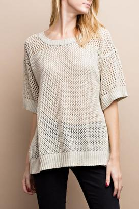 easel Back Laced Sweater $35 thestylecure.com