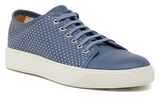 Santoni Acadia Perforated Leather Sneaker