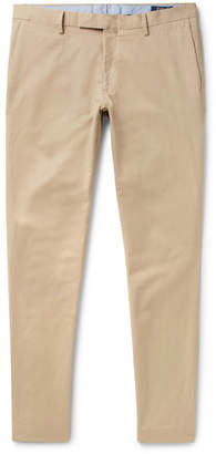 Polo Ralph Lauren Slim-fit Stretch-cotton Twill Chinos - Beige
