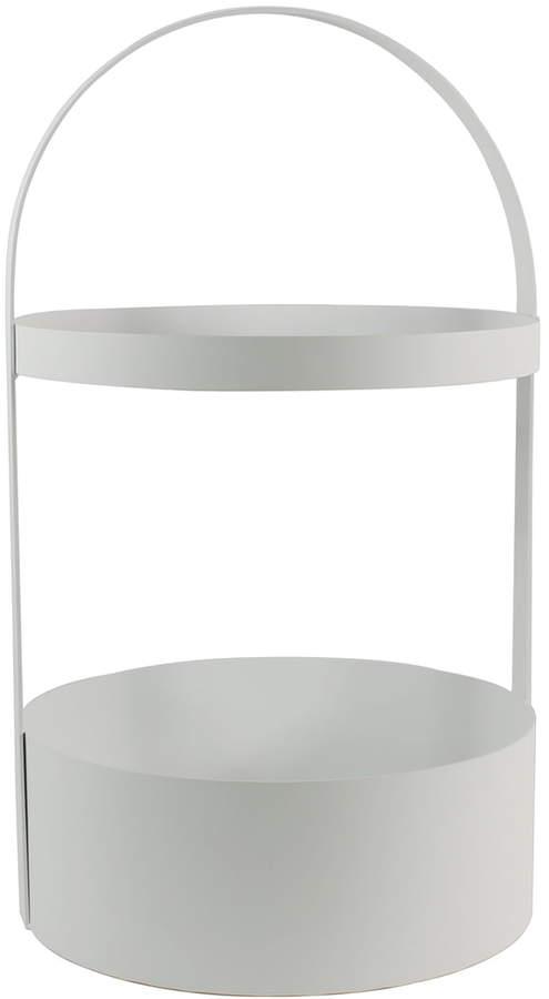 Jan Kurtz - Polytable Beistelltisch, Weiß