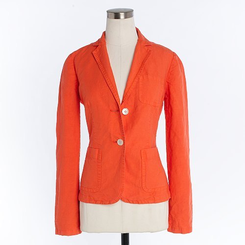 Linen-cotton Casa Rossa jacket