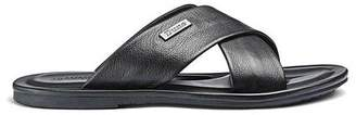 Dune Idle Cross Over Sandal Shoes