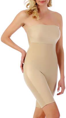 INSTANT FIGURE InstantFigure Strapless Bandeau Shorts w/open gusset Shapewear
