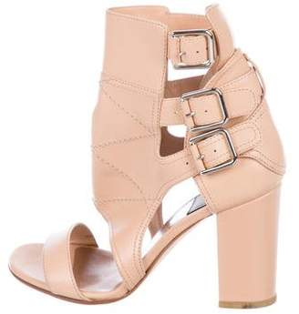 Laurence Dacade Leather Caged Pumps