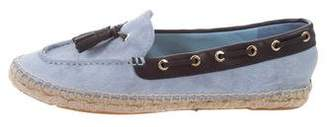 Tory Burch Tassel Boat Shoes