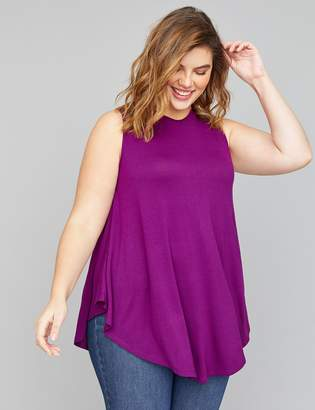 e69a8a979bca6 Lane Bryant Purple Plus Size Tops - ShopStyle