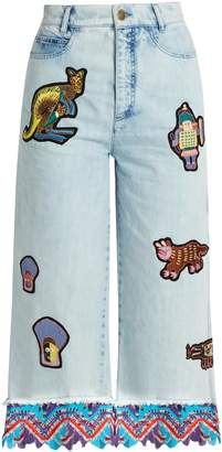 Peter Pilotto AMEX X + Francis Upritchard jeans