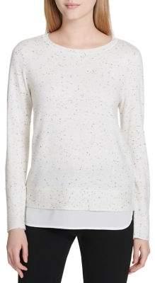 Calvin Klein Crewneck Patterned Sweater