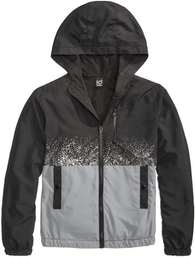 Ideology Splatter Hooded Jacket, Big Boys, Created for Macy's