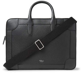 28fc2302457 Mulberry Belgrave Full-grain Leather Briefcase - Black
