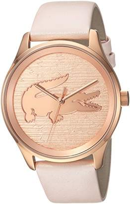 Lacoste Women's 'Victoria' Quartz Stainless Steel and Leather Casual Watch