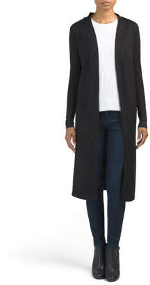Long Sleeve Open Front Duster