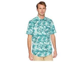 Chaps Short Sleeve Printed Woven Shirt Men's Clothing