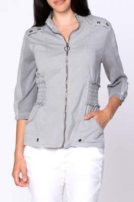XCVI Poplin Zip Jacket