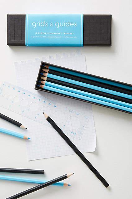 Grids & Guides Pencil Set