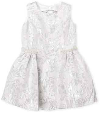 Little Angels (Toddler Girls) Floral Brocade Dress