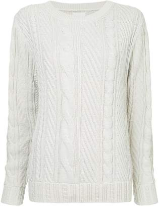 Coohem cable knit jumper