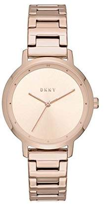 DKNY Women's Analogue Quartz Watch with Stainless Steel Strap NY2637