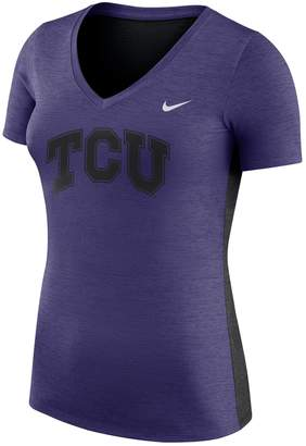 Nike Women's TCU Horned Frogs Dri-FIT Touch Tee