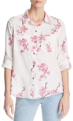 Billy T Cherry Blossom Button-Down Top