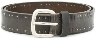 Orciani studded buckle belt