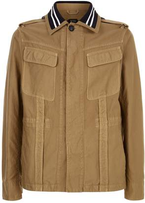N°21 N 21 Stripe Collar Safari Jacket