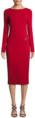Tom Ford Open-Back Sheath Dress