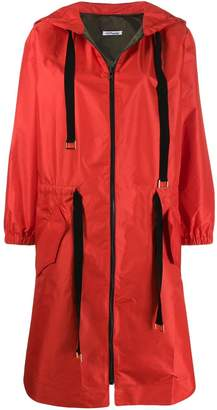 Parlor hooded raincoat